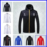 spring football league - New jerseys Top quality Italy jersey Champions League hooded jacket football shirts