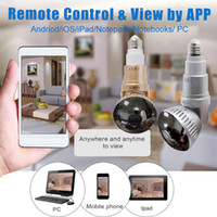Wholesale Recorder Fhd - IB-175WM COMS bulb CCTV Security DVR HD 720P WiFi Camera FHD 1080P digital voice recorder IR night Version Mini Camera AT