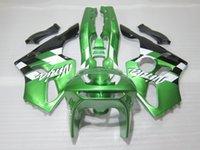 1996 kawasaki ninja zx6r großhandel-Aftermarket Karosserieteile Verkleidung Kit für Kawasaki Ninja ZX6R 1994-1997 grün schwarz Verkleidung Verkleidungen Satz zx6r 94 95 96 97 OT23
