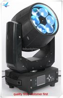 2Xlot mini bee eye led light mini moving head manual 6*40w high power 4in1 rgbw moving head led