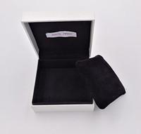 caisse d'oreiller à bijoux achat en gros de-Emballage de boîte de papier avec oreiller Pour Bijoux De Style Pandora Charmes Perles Bracelets Bracelets Emballage Présentoir Paquets Cadeaux