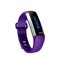 Più nuovo M2S Sport SmartBand LED Blood Pressure Watch Blood Blood Monitor della frequenza cardiaca intelligente Bracciale Meteo Riding Running PK xiaomi mi banda