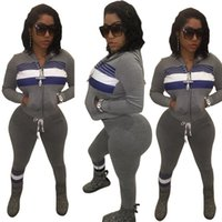 Wholesale Sexy Women S Sports Jerseys - Sexy printed sport suit two-piece outfit