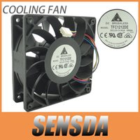 Wholesale Powerful Server - Delta 120mm 12cm PWM Fan TFC1212DE 252CFM vs PFB1212UHE, Most Powerful Server CaseFan