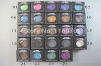 sıcak yeni pigmentler toptan satış-Ücretsiz kargo! Sıcak Satış Yeni Göz Farı 24 farklı Renk göz farı pigment 1.5g mix renk