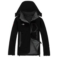 Wholesale mens ski jacket waterproof - MALE North Mens Denali Apex Bionic Jackets Outdoor Casual SoftShell Warm Waterproof Windproof Breathable Ski Face Coat 017