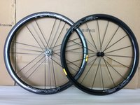Wholesale Wheelset Clincher China - made in china carbon wheels 38mm Clincher 23mm width Road Bike Carbon Wheels Powerway R13 light Hub Carbon Road Bicycle wheelset ROVAL WHEEL