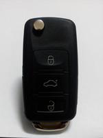 ingrosso tasti flip vw-XQautopart Flip Remote Key Coperchio della cassa della cassa COMBO per VW B5 style 3 + 1 pulsante A330 2pcs / lot