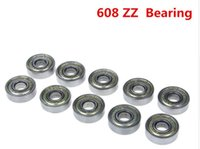 Wholesale 50pcs Double Shielded Miniature High carbon Steel Single Row ZZ ABEC Deep Groove Ball Bearing x22x7 mm ZZ