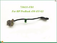 Wholesale Hp Probook Cable - DC Power Jack With Cable 710431-SD1 710431-FD1 For HP ProBook 450 455 G1 High Quality&100% Working&90 Days Warranty