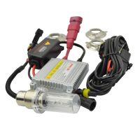 ingrosso lampadina bassa-Moto hid xenon Kit faro H4 H6 BA20D Hid Lights Hi / Low Bulbs Bici bicicletta xeno Lampada luce 12V 35W