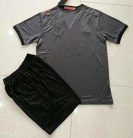 Wholesale Cheap Soccer Shirts Wholesale - high quality LAHM GOTZE HUMMELS VIDAL LEWANDOWSKI MULLER ROBBEN COSTA Away gray Soccer Jerseys 16 17 Custom Shirt Cheap Set uniforms kit