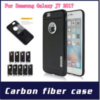 Wholesale Cases For Zte - Motomo For Samsung Galaxy A3(2017) J5 J7 2017 ZTE V6 PLUS V7 LITE V6 MAX A610 Carber TPU Fiber Cover