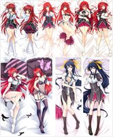 Wholesale Rias Gremory Pillow - Wholesale- Pillow Case Japan Anime High School DxD Rias Gremory Hugging Body Pillow Cover case decorative pillowcases