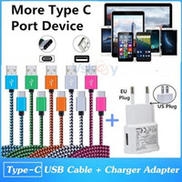 Wholesale iphone more online – High Quality A USB Wall Charger USB Type C Cable For Samsung HTC Sony Huawei Sony And More Type C Charging Port Mobile Phone