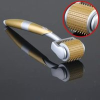 zgts titan nadeln derma rolle großhandel-Titan 192 Nadeln ZGTS Dermaroller Derma Roller Haut Gesicht Schönheitswalze