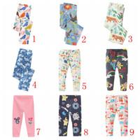 Wholesale Robe Pants - Baby Leggings for Girls Pants 2017 Brand Girls Leggings Kids Clothes Robe Enfant Skinny Cotton Children Trousers Leggings Girl