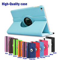 Wholesale 360 Rotating leather case Smart cover For iPad pro air3 air
