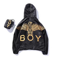 Wholesale Browning Eagle - boy london jacket windbreaker hip hop summer eagle print y-3 college jackets anorak jaqueta masculina windbreaker RASHGUARD