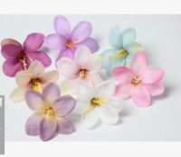 Wholesale Wholesale Jasmine Flowers - DIY handmade imitation jasmine, lily, orchid flower, headdress, dress, hat, decorative flower, Beach Flower