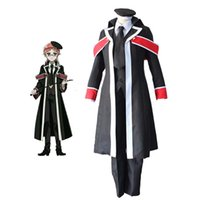 Oushitsu Kyoushi Royal Teacher Heine Nero Cosplay Trench Uniform Set Panno per Uomini Adulti Donne Partito Halloween Cosplay Costume