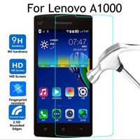 lenovo vibe protection оптовых-Премиум закаленное стекло протектор экрана для Lenovo A1000 A2010 A2020 / VIBE C закаленное защитная пленка с розничной упаковке
