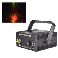 Wholesale Laser Lights Lens - 150MW Led Stage Lighting 48 Patterns 3 Lens Laser Projector Show Dj Party Disco Club Bar Professional Lights Equipment