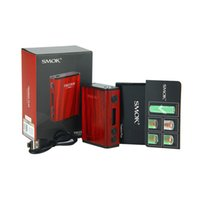 Wholesale Max Power Battery Ship - 100% Original SMOK Treebox Plus TC MOD 220W Max Output Powered by Two 18650 Batteries DHL Free shipping