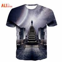 Wholesale Flash Universe - Alisister Men Women's Galaxy Space T-Shirt Print I Could See The Universe 3D T Shirt Casual Unisex Tshirts Harajuku Tee Shirt 17310