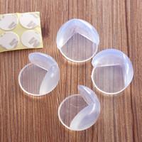 baby-tischkantenschutz großhandel-Kinderschutz-Tisch-Ecke Baby-Sicherheitsprodukte Silikon-Schutz-Kindersicherheits-Kanten-Ecken-Schutz