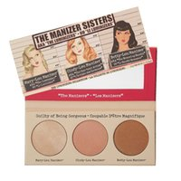 Wholesale Natural Mineral Water Brands - New Mineral Brand Palette Compact Mary   Betty   Cindy Lou Manizer Eye Shadow 3 IN 1 Highlighter Set Shimmer Shadow