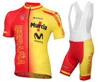 Wholesale Spain Cycling - Spain team Cycling Jersey   ropa ciclismo bike jersey   maillot cycling clothes free shipping