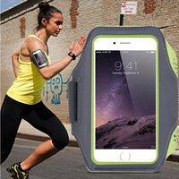 Wholesale Swim Sport Accessories - Waterproof Sport Armband Arm Band Case For iPhone 7 6 6S 7 Plus 6 Warkout Running Gym Phone Accessories Cover Bags Handbags