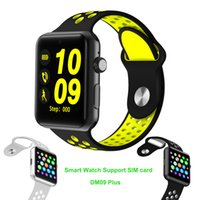 Wholesale Iphone Bluetooth Sync - LF07 plus sport Smart Watch Support SIM Card MTK2502 Sync Notifier Bluetooth SmartWatch For apple iphone Android Phone