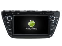 "Wholesale Gps Car Dvd S - New Octa Core Android6.0 2GB RAM car dvd player stereo 8"" screen radio for Suzuki S-Cross 2013-2015 gps navi 3G dvr tape recorder headunit"