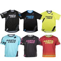 Wholesale Downhill Cycles - SANTA CRUZ long Jersey New arrival MTB Offroad Moto Cross Downhill Jersey Cycling Bike Sports Jersey Wear Clothing T-shirts