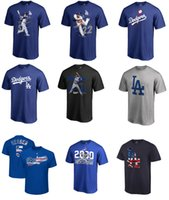 Wholesale Red Chase - 2017 MLB Los Angeles Dodgers 35 Cody Bellinger 22 Clayton Kershaw 5 Corey Seager 26 Chase Utley Postseason Participant Authent T-shirt