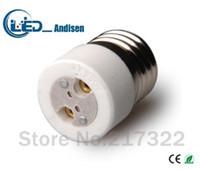 adaptateurs e27 e12 achat en gros de-E27 TO MR16 adaptateur Prise de conversion Matériau de haute qualité matériau ignifuge GX53 socket adapter Support de lampe