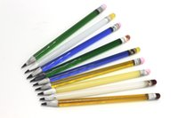 Wholesale Glass For Pencils - Wholesale 7 Colors Glass Dabber Pencil Shape Style Pyrex Glass Dabber Tool For Dab Rig Glass Bong Water Pipes