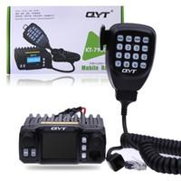 Wholesale Mobile Quadband - KT-7900D QuadBand Car Radio Quad-Standby 5Tone 25W VHF UHF Car Trunk Color Display Screen Mobile Radio with Handheld Microphone