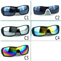 Wholesale Cheap Branded Sunglasses - Hot Sale Cheap sunglasses For Man sport cycling Brand sunglasses dazzle colour mirrors glasses