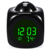 Wholesale Multifunctional Highstar Electric Clock with Memo Board Green Light Display for Gift Home Supplies