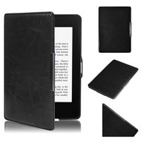 Wholesale Amazon Kindle Paperwhite Covers - Wholesale- Magnetic Auto Sleep Leather Cover Case For Amazon Kindle Paperwhite 1 2