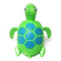 Vente en gros - Floating Wind-up Swimming Turtle Summer Toy pour enfants Enfant Children Pool Bath