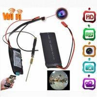 Wholesale H 264 Hidden Camera - High Quality WiFi Remote P2P PI Camera Module 06S Full HD 1080P Mini Hidden Camera H.264 170Degree Night Version DIY Module Camera