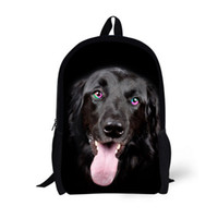 Wholesale Dog Bubbles - FORUDESIGNS Cool Kawaii Dogs Tiger Printing Backpack,Children School Bags,Color Bubble Animal Pattern School Backpacks Fashion