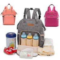 Wholesale mother maternity clothes for sale - Group buy Hot Mommy Backpack Nappies Bags Fashion Mother Maternity Multifunction Diaper Backpacks Large Volume Outdoor Travel Bags Color WX B29