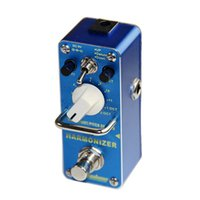Wholesale Pitch Control - AROMA AHAR-3 HARMONIZER Pitch shifter Dry, wet and range control Mini Digital Effect True Bypass