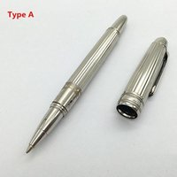Wholesale Custom Gift Pens - Novelty pen Luxury MB-Pen colorful Short Rod Hommage a W. A. Mozart Small Roller Ball Pen Custom gifts cute Pen