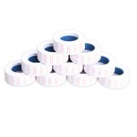 etiket etiketleme tabancası toptan satış-Toptan-Yeni 10x Kağıt Etiket Fiyat Etiket Etiket MX-5500 için Tek Sıra Fiyat Gun Labeller 21mm X 12mm Sıcak Satış
